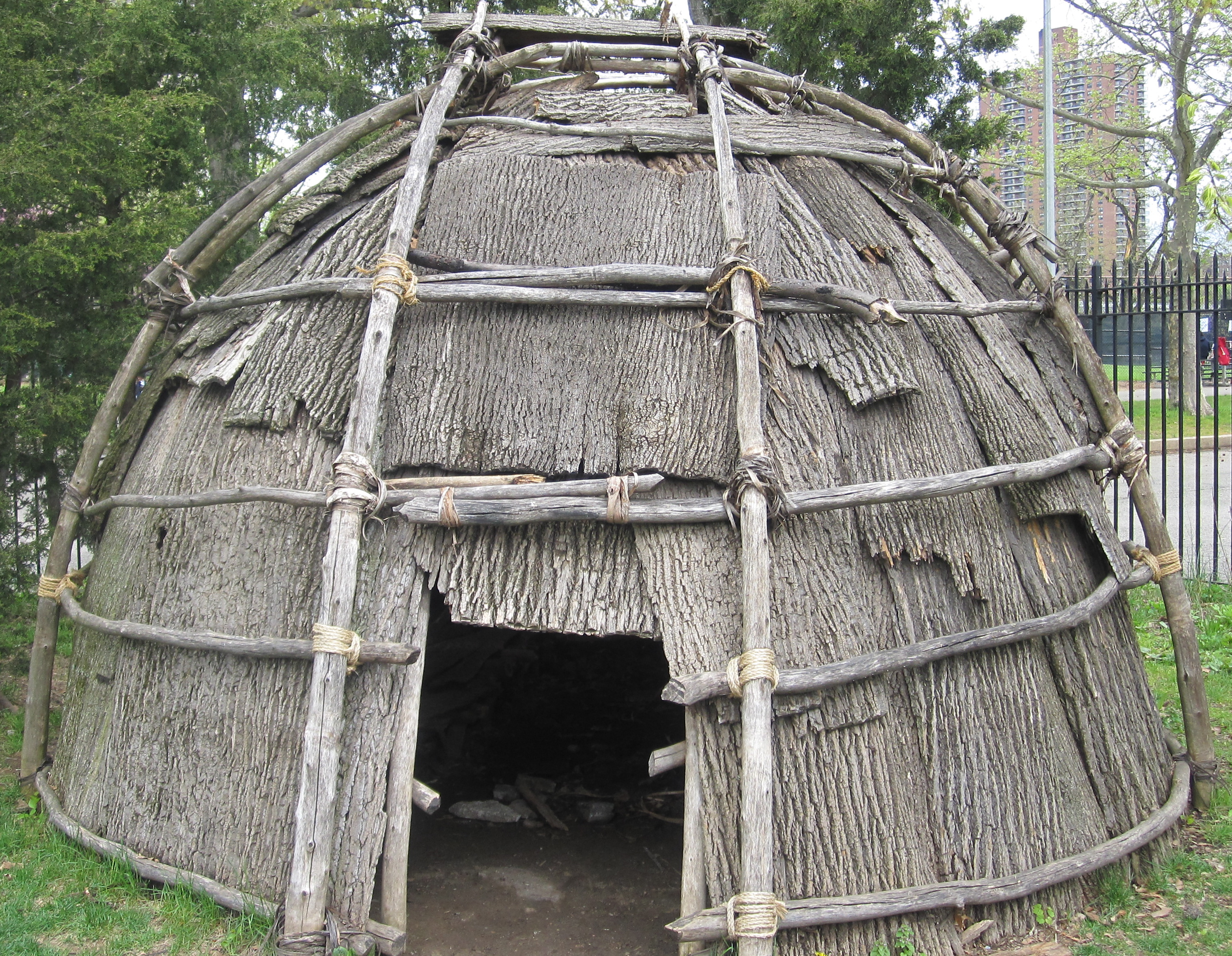 Cherokee indian house project