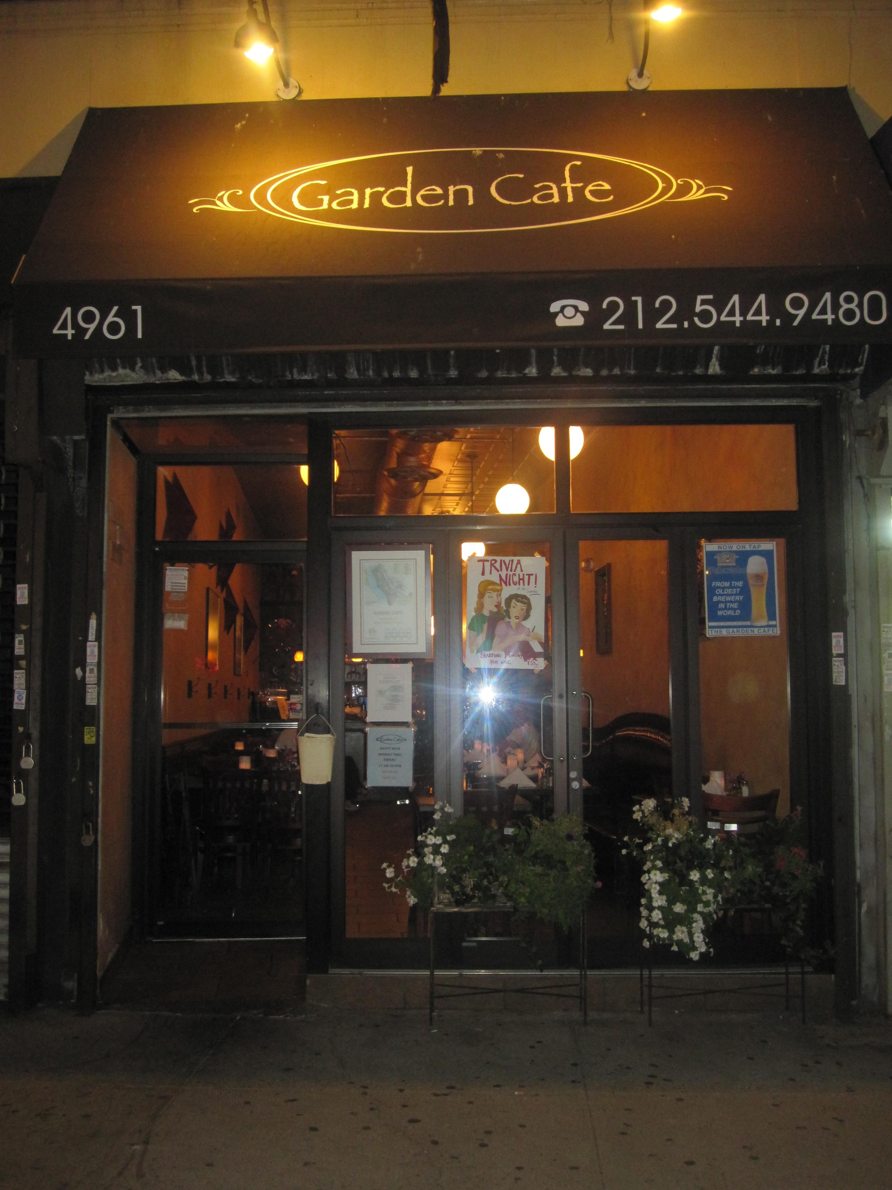 UPTOWN OASIS – THE GARDEN CAFÉ | Washington Heights, Inwood & Harlem ...